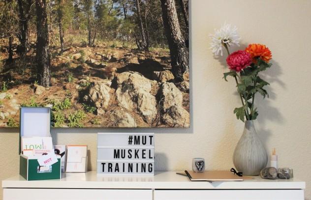 """""""Mutmuskeltraining bedeutet Dir auch wirklich bewusst zu werden, was Dein Ding ist"""", erklärt """"Mutberaterin"""" Tanja Peters. (Foto: Theresa Thyen)"""