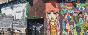 Graffiti Kunst in Ehrenfeld