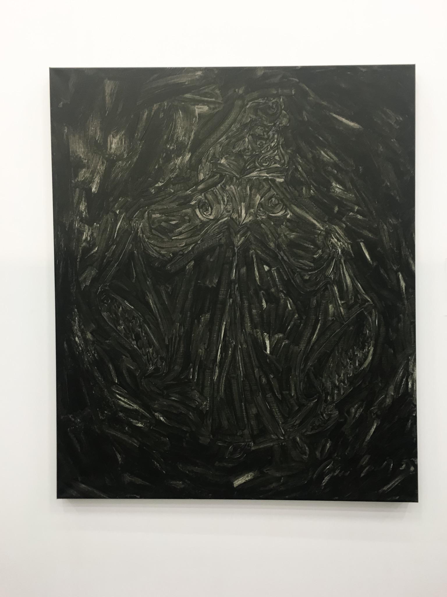 "Pierre Bismuth, 2008 – ""Black Paintints"""