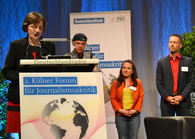 Verleihung des zweiten Günter-Wallraff-Preises